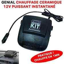 PRATIQUE CHAUFFAGE 12V CERAMIQUE ! CHAUFFE LA VOITURE EN 1MN BATEAU CAMPING CAR
