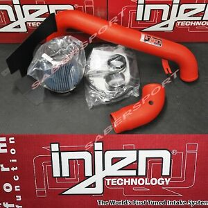 Injen SP Red Short Ram Air Intake w/ Heat Shield for 2015-2017 Ford Focus ST