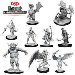Nolzur's Marvellous Miniatures Wave 13 D&D Minis Unpainted RPG Figurines