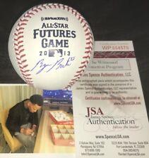 Byron Buxton Minnesota Twins Signed 2013 FUTURES GAME Baseball JSA WITNESS COA