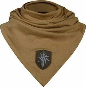 Musterbrand Beige Dragon Age Cotton Knit Scarf Spirit,One Size
