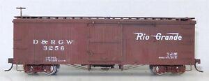 Sn3 Narrow Gauge #3256 D&RGW Camel Door Version BOX CAR Weathered ~ T130E