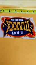 NFL SUPERBOWL XXXVIII IRON ON PATCH NEW