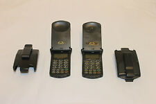 Vintage Motorola STARTAC Flip Phone Rare Cellphone (2) Two phones