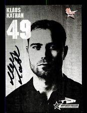 Klaus Kathan Autogrammkarte Düsseldorfer EG 2005-06 Original Signiert+A 137544