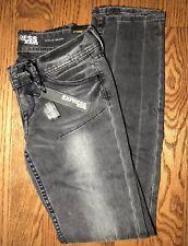 Express Womens Stella Black Skinny Jeans, Size 0, BRAND NEW!!!