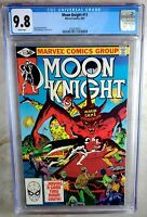 Moon Knight #11 Marvel 1981 CGC 9.8 NM/MT White Pages Comic N0011