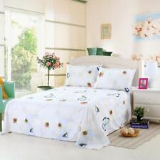 Bed Sheet/ Duvet Cover Pillow Case Quilt Cover Bedding Set For Single Double Bed