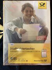 3 Luftpolstertaschen Basic Deutsche Post Braun