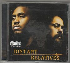 NAS & DAMIAN MARLEY - distant relatives CD