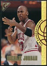 1995-96 TOPPS GALLERY MICHAEL JORDAN EXPRESSIONISTS INSERT CARD #EX2  NM-MT