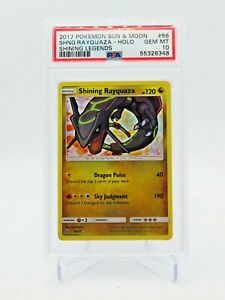 Pokemon Shining Legends Shining Rayquaza 56/73 PSA 10 GEM MINT
