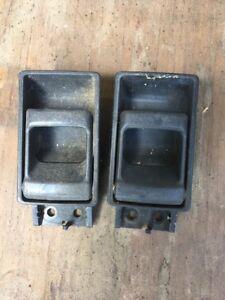 NISSAN HARDBODY D21 1993-97 PATHFINDER 92-95 INSIDE DOOR RELEASE HANDLE GREY