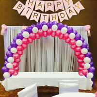 Balloon Arch DIY Party Kit with Frame Base Pole Ballon Clips Birthday Decor