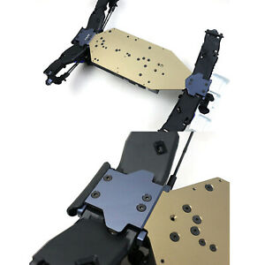 Metal Chassis Protective Plate Front Rear Board for TP TEKNO EB48 2.0/ET48 2.0