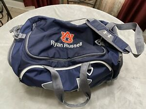 Auburn Tigers Team Issued Player Issued Under Armour Gym Bag Duffle Bag