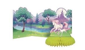 Unicorn Fantasy Centrepiece - Backdrop & Honeycomb