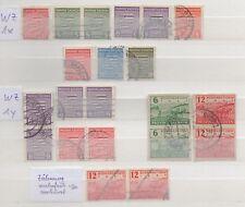 Alliierte Besetzung,SBZ,Prov.Sachsen,21 Briefmarken gestempelt,Michel 71,00 (9)