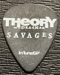 THEORY OF A DEADMAN #1 TOUR GUITAR PICK