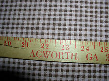 """2.92 yd; 56/57""""Wide; Pink & Brown Check by Fabric World-Coarse Woven-Polyester"""