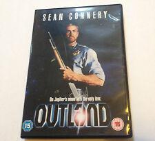 Outland DVD - SEAN CONNERY - 1981 RARO Ciencia Ficción - GB Liberación REGIÓN 2