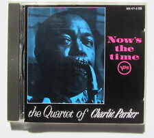CHARLIE PARKER . NOW'S THE TIME . CD