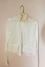 Antique Vintage Victorian Edwardian Women's Blouse Bodice 1900s Shirt