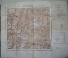 Gran Paradiso Italian Map ~ Fo41 ~ Series M691 ~ Europe Edition 1950