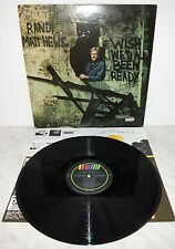LP RANDY MATTHEWS - WISH WE'D ALL BEEN READY - U.S.A PRESS