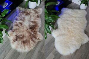 Brand New Natural Real Sheepskin Rug (30% OFF - Slight Seconds) Genuine Soft Fur