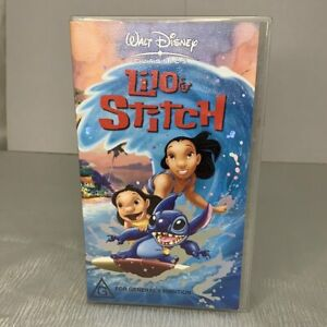 Walt Disney Classics Lilo & Stitch VHS CLASSIC MOVIE