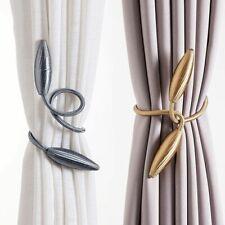 Arbitrary shape strong Curtain Tiebacks Plush Alloy Hanging Belts Ropes Curtain