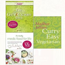 Curry Easy Vegetarian Madhur Jaffrey Collection Slow Cooker Diet Recipe 3 Books