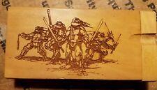 Teenage mutant ninja turtles tmnt custom wood wooden dugout