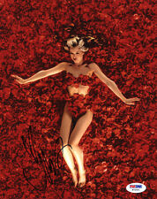 Mena Suvari Signed 8x10 Photo Angela Hayes American Beauty Psa/Dna Autographed