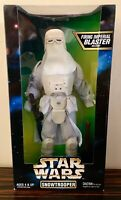 STAR WARS SNOWTROOPER 12 INCH ACTION FIGURE WITH FIRING IMPERIAL BLASTER