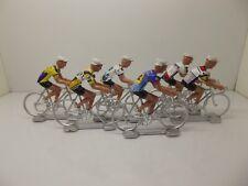 Greg Lemond cycling figurines set miniature Lavie Claire Look Z