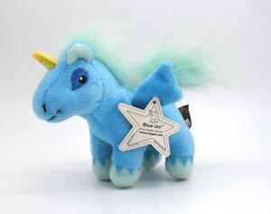 "Neopets McDonald's Blue Uni plush toy figure stuffed doll happy meal prize 4"""