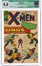 X-Men #8 (Nov 1964 Marvel, Comics) CGC 4.0 VG | Unus & Mastermind appearance