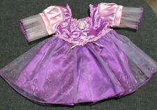 Build A Bear Clothes Disney Princess Rapunzel Tangled Dress EUC