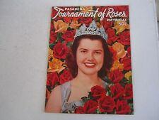 1953 PASADENA TOURNAMENT OF ROSES OFFICIAL PROGRAM - SEE PICS - TUB QQQQ