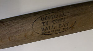 vintage 1909 Ty Cobb bat Detroit Tigers