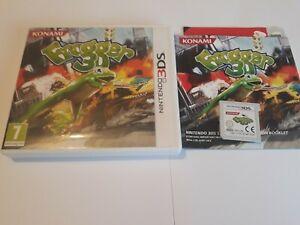 Frogger 3D Game For Nintendo 3DS 2011 Konami Platformer Worldwide Post! RARE