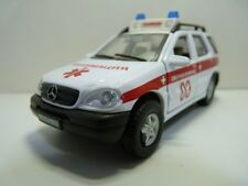 Diecast Russian Emergency vehicle  Mercedes Benz M-Class toy car