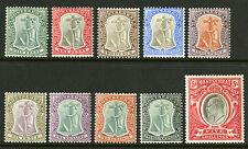 Montserrat   1903   Scott # 12-21   Mint Lightly Hinged Part Set