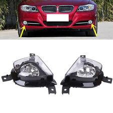 Pair Fog Driving Light Lamp For BMW E91 E90 335i 328i L6 3.0L 2009-2012 3 Series
