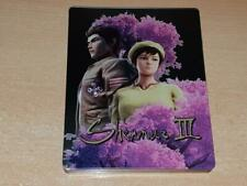 Shenmue III Limited Edition Steelbook Case Only G2 (NO GAME)