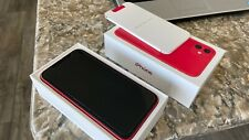 Apple iPhone 11 256gb red - blacklisted - for parts only - pristine