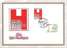 MONACO CEF PREMIER JOUR 2005 TIMBRE N° 2483 SERIE ARTS PLASTIQUES