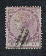Ckstamps: Gb Stamps Collection Dominica Scott#9 Used Tiny Thin